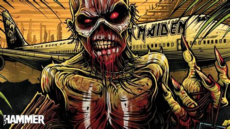 Take a trip to Mexico with Iron Maiden in the new issue of