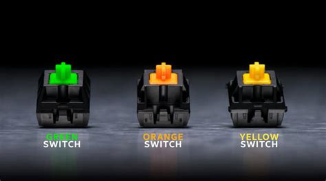 Difference Between Gaming Keyboard Mechanical Switches