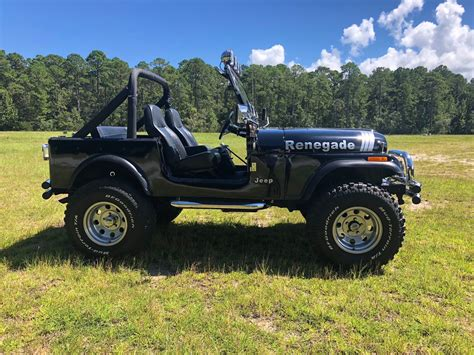 1978 Jeep CJ7 Renegade back for sale - The Hull Truth