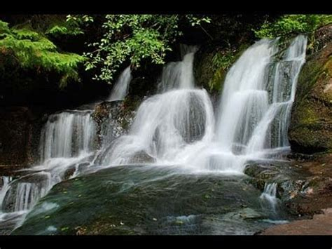 Very Relaxing 3 Hour Video of SMALL Waterfall - YouTube