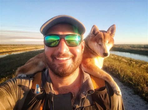 Navarre man and his blind dog complete 1,100-mile hike of